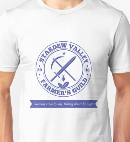 Stardew Valley Farmer's Guild Crest Redux Unisex T-Shirt