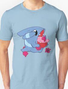 Gible Eating Haban Berries Unisex T-Shirt