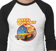 Fast & Curious   Men's Baseball ¾ T-Shirt