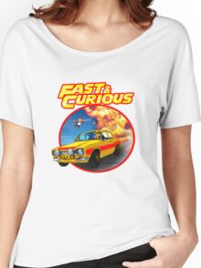 Fast & Curious   Women's Relaxed Fit T-Shirt