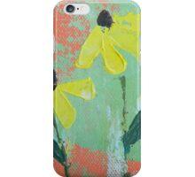 Yellow Coneflowers iPhone Case/Skin