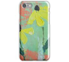 Yellow Coneflowers iPhone Case/Skin