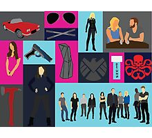 Agents Of Shield  Photographic Print