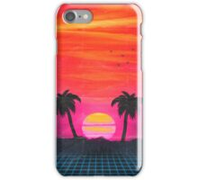 Retro sunset 2 iPhone Case/Skin
