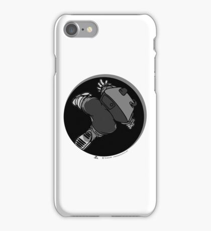 Anomaly & Astronaut - Falling (INside) iPhone Case/Skin