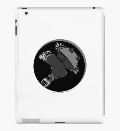 Anomaly & Astronaut - Falling (INside) iPad Case/Skin