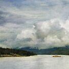 Stormy sky by Priska Wettstein