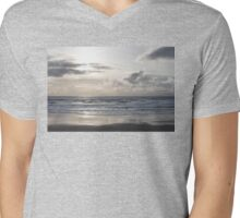 Silver Scene Mens V-Neck T-Shirt