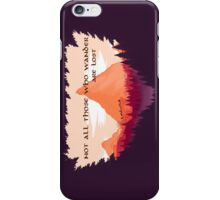 Firewatch Lord of the Rings Tolkien Quote iPhone Case/Skin