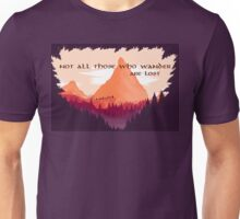 Firewatch Lord of the Rings Tolkien Quote Unisex T-Shirt