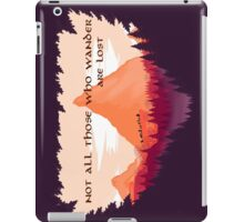 Firewatch Lord of the Rings Tolkien Quote iPad Case/Skin