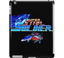 Super Star Soldier (TurboGrafx-16 Title Screen) iPad Case/Skin