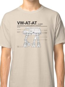 VW Westfalia AT-AT T3 Joker Blueprint Classic T-Shirt