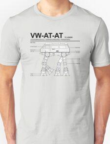 VW Westfalia AT-AT T3 Joker Blueprint Unisex T-Shirt