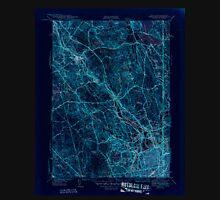 USGS TOPO Map Rhode Island RI Pawtucket 353436 1944 31680 Inverted Unisex T-Shirt