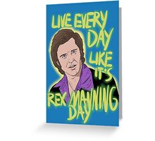 Rex Manning Day Greeting Card