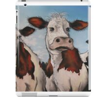 Til the cows come home.... iPad Case/Skin