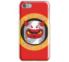 HKR - white on yellow iPhone Case/Skin