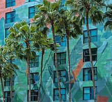 Palms and Mosaics by John  Kapusta