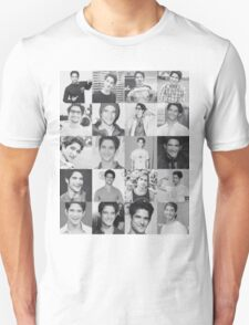 Tyler Posey collage Unisex T-Shirt