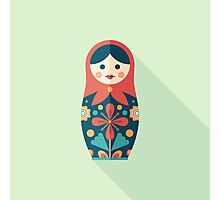 Russian Nesting Doll Photographic Print