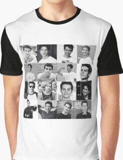 Tyler Posey & Dylan O'brien collage Graphic T-Shirt