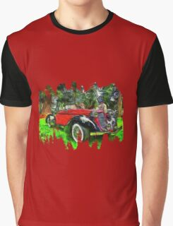 1935 Auburn Boattail Speedster Graphic T-Shirt