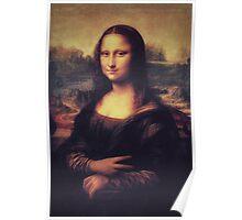 Mona Lisa! SWAG! PEACE! YOLO! Parody Poster