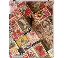 Retro Vintage Matchboxes iPad Case/Skin