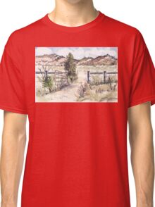 A gate in the Karoo Classic T-Shirt