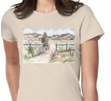 A gate in the Karoo Womens Fitted T-Shirt