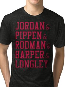 Obviously the Best Starting Lineup Tri-blend T-Shirt