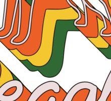 Retro Beagle Sticker