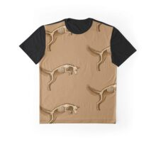 Jumping Fox Graphic T-Shirt