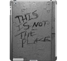 This Is Not The Place iPad Case/Skin