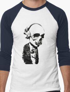 HIPSTERSKULL Men's Baseball ¾ T-Shirt