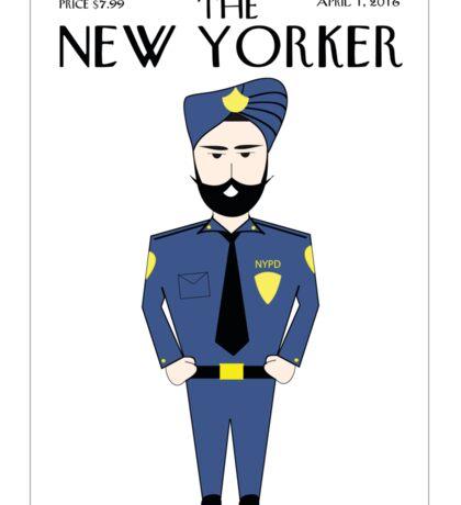 Sikh New Yorker Sticker