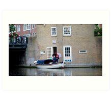Loading up-Amsterdam Art Print