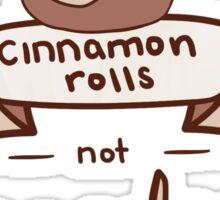 Cinnamon Rolls, Not Gender Roles Sticker