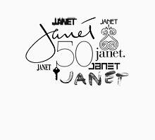 #50YearsOfJanet // Black  T-Shirt