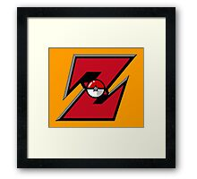 Pocket Ball Z Framed Print