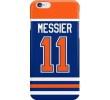 Edmonton Oilers Mark Messier Away Jersey Back Phone Case iPhone Case/Skin
