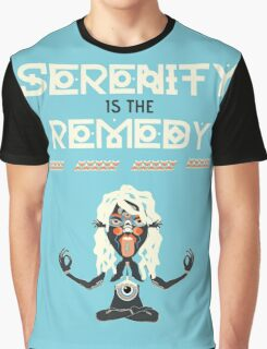Serenity is the Remedy (vertical) Graphic T-Shirt