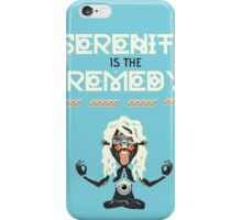 Serenity is the Remedy (vertical) iPhone Case/Skin