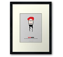 Sikh Men: Making you feel Normal Framed Print