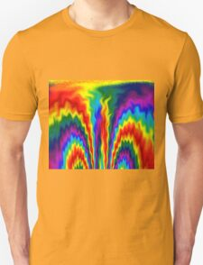 A Fire in a Rainbow Unisex T-Shirt
