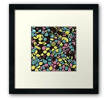 The One With The Cartoon Sprinkles Framed Print