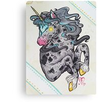 Heart Headed Horse Canvas Print