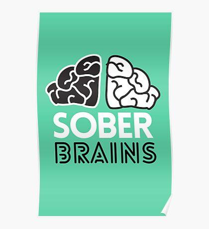 SoberBrains LOGO Poster