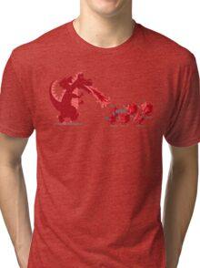 Rolling into Battle Tri-blend T-Shirt